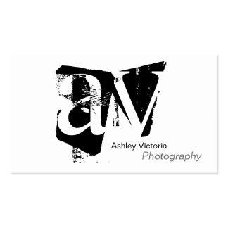 Monogram Simplicity Business Card