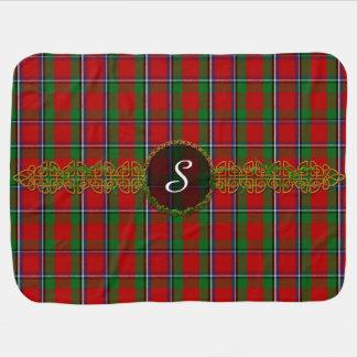 Monogram Sinclair Tartan Swaddle Blankets