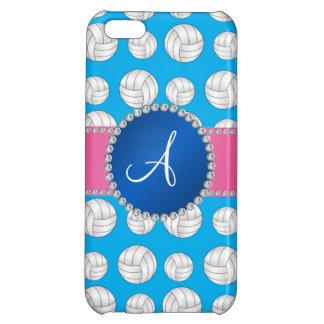 Monogram sky blue volleyballs blue circle iPhone 5C cases