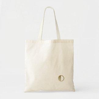 Monogram Small White Canvas Bag
