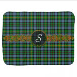 Monogram Smith Tartan Swaddle Blanket