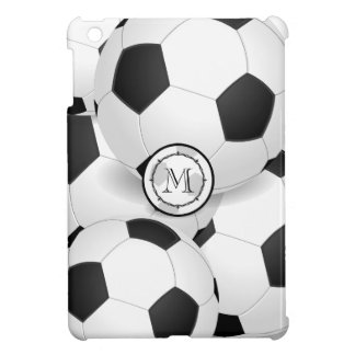 Monogram Soccer Sports iPad Mini Case