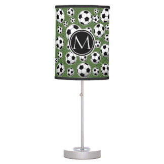 Monogram Soccer - Tree Top Table Lamp