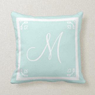 Solid Light Blue Pillows - Decorative & Throw Pillows Zazzle