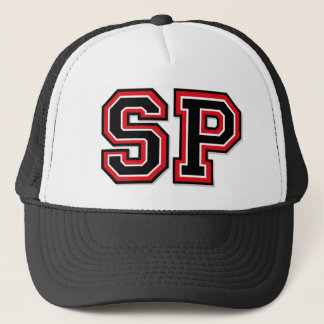 Monogram 'SP' initials Trucker Hat