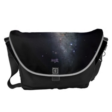 Monogram Spiral Galaxy - NGC 253 Courier Bags
