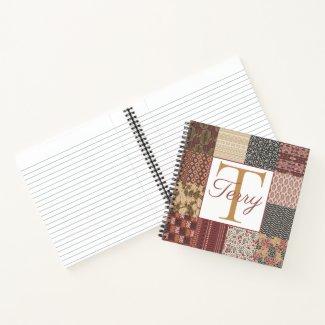 Monogram Spiral Notebook