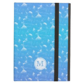 Monogram: Sponge Painted Look iCase iPad Air Case