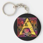 Monogram: Stainglass A Keychain