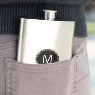 Monogram Stainless Steel Classic Flask 8 oz