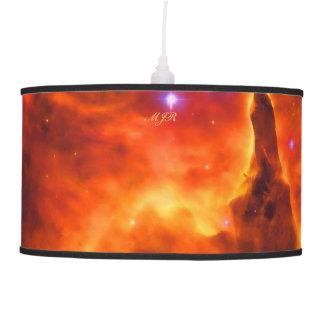 Monogram, Star Cluster Pismis 24 outer space image Hanging Lamp