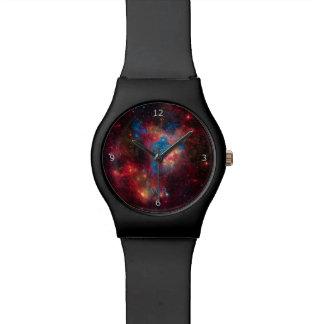 Monogram, Star Superbubble, Large Magellanic Cloud Wrist Watches