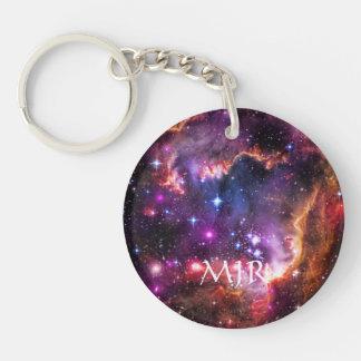 Monogram Starry Wingtip of Small Magellanic Cloud Keychain