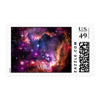 Monogram Starry Wingtip of Small Magellanic Cloud Postage