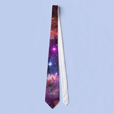 Monogram Starry Wingtip of Small Magellanic Cloud Tie