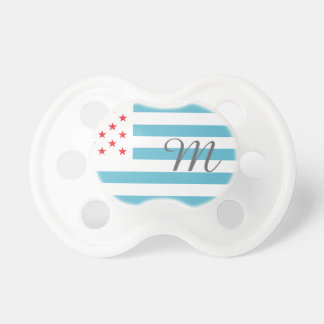 Monogram Stars and Stripes Pacifier