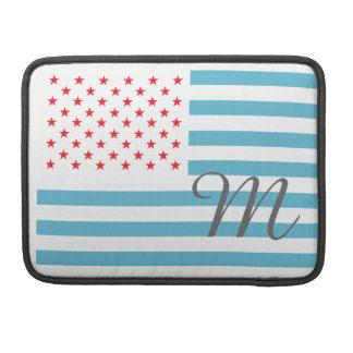 Monogram Stars and Stripes Sleeve For MacBooks