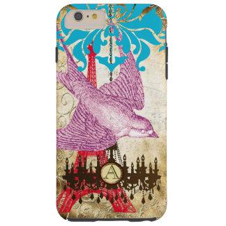 Monogram Steampunk Bird Effiel Tower Chandelier iPhone 5 Cases