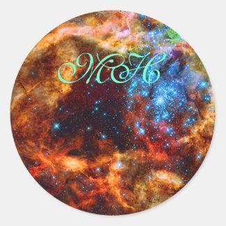 Monogram - Stellar Nursery R136, Tarantula Nebula Sticker