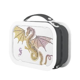 Monogram Storm Dragon Lunch Box