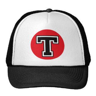 "Monogram ""T"" Initial Trucker Hat"
