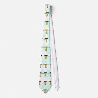 Monogram T Pony Horse Personalised Neck Tie