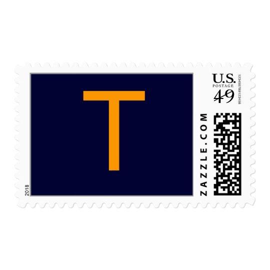 "Monogram ""T"" Postage"