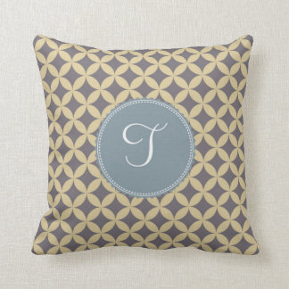 Monogram 'T' Throw Pillow