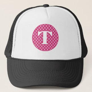 Monogram T Trucker Hat