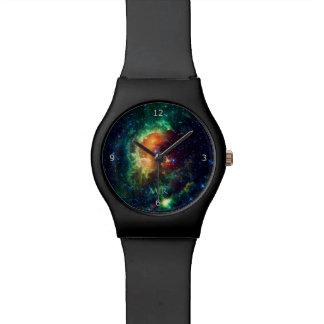 Monogram, Tadpole Nebula, Auriga Constellation Wristwatch