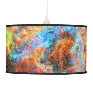Monogram Tarantula Nebula deep space picture Ceiling Lamp