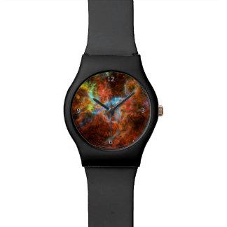 Monogram, Tarantula Nebula, Large Magellanic Cloud Wrist Watch