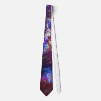 Monogram Tarantula Nebula Neck Tie