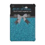 Monogram, Teal Glitter, iPad Cases