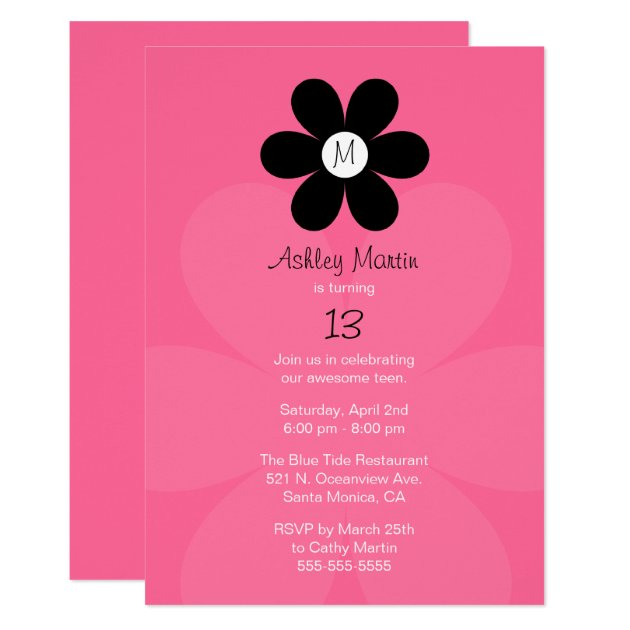 Invitation To Party with beautiful invitations example