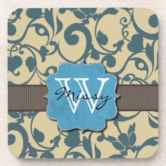 Monogram Template Coasters