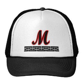 Monogram template trucker hat