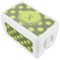 Monogram Tennis Balls Sports pattern Cooler