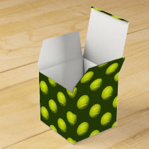 Monogram Tennis Balls Sports pattern, Favor Box