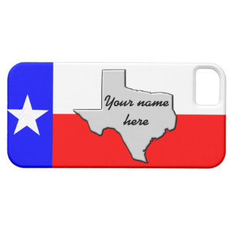 Monogram Texas Pride case iPhone 5 Case