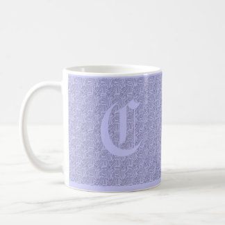 Monogram Texture Mug
