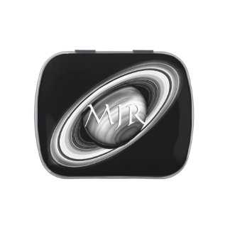 Monogram, The Rings of Saturn - solar system image Candy Tins