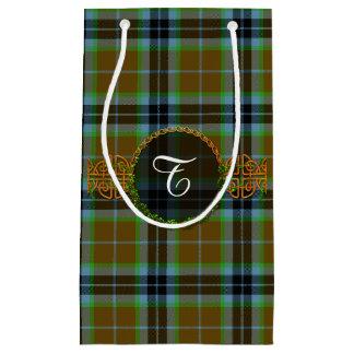 Monogram Thomson Tartan Small Gift Bag