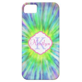 Monogram  Tie Dye  iPhone 5 Case