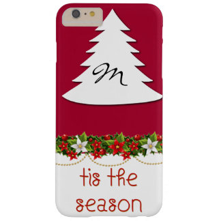 Monogram Tis The Season Holiday Phone Case