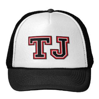 Monogram 'TJ' Initials Trucker Hat