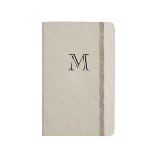 Monogram To Do List Journal