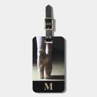 Monogram Travel Ballet Toe Dance Shoes Bag Tag