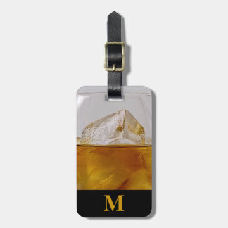 Monogram Travel Brandy on the Rocks Luggage Tag