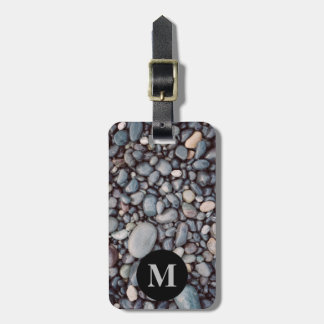 Monogram Travel Gray Rock Pebbles Bag Tag